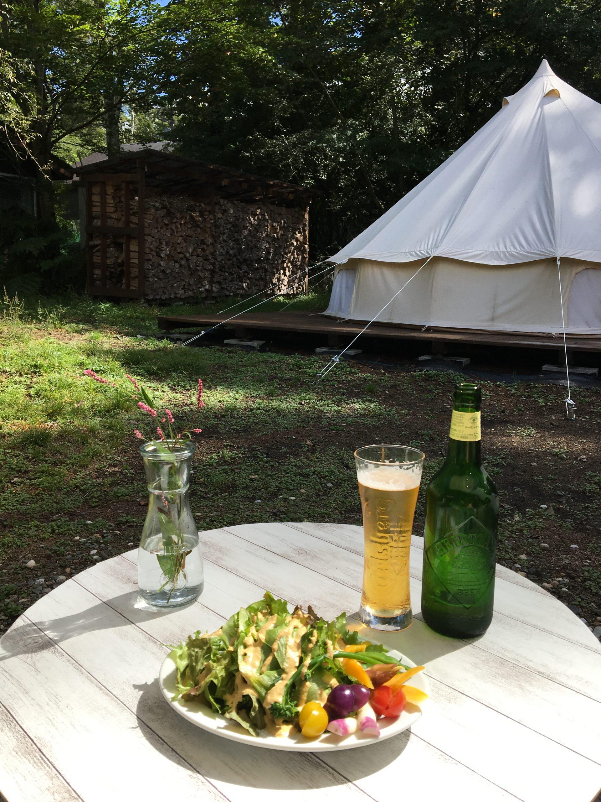 企業やグループでキャンプ施設を貸切りできます